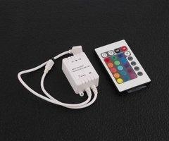 RGB Ledstrip 24 knops IR afstandbediening