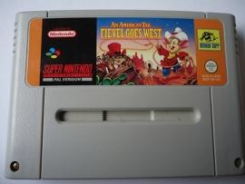 An American Tail: Fievel Goes West - Super Nintendo / SNES / Super Nes spel (D.2.6)