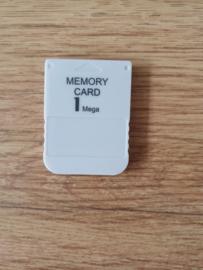 Memory Card 1Mega Sony Playstation 1 PS1(H.3.1)