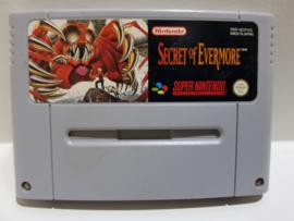 Secret of Evermore - Super Nintendo / SNES / Super Nes spel 16Bit (D.2.4)
