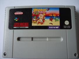 Spanky's - Super Nintendo / SNES / Super Nes spel (D.2.7)