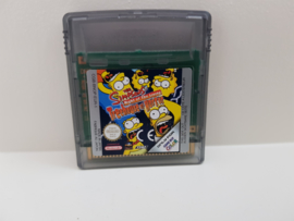 The Simpsons Night of the Living Treehouse of Horror - Nintendo Gameboy Color - gbc (B.6.1)