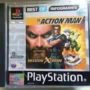 Action Man - Mission Xtreme PS1 best of infogrames - Sony Playstation 1  (H.2.1)