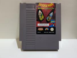 Spider-Man Return of the Sinister Six - Nintendo NES 8bit - Pal B (C.2.6)