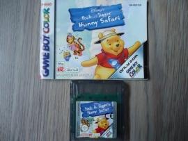 Winne The Pooh and Tigger Hunny Safari - Nintendo Gameboy Color - gbc (B.6.1)