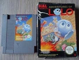 Adventures of Lolo Nintendo NES 8bit
