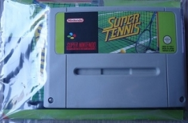 Super Tennis - Super Nintendo / SNES / Super Nes spel (D.2.8)
