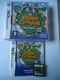 Animal Crossing Wild World - Nintendo ds / ds lite / dsi / dsi xl / 3ds / 3ds xl / 2ds (B.2.2)