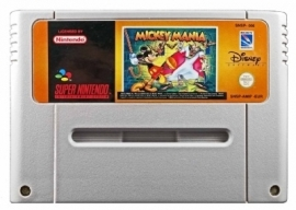 Mickey Mania: The Timeless Adventures of Mickey Mouse - Super Nintendo / SNES / Super Nes spel (D.2.2)