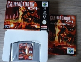 Carmageddon 64 Nintendo 64 N64