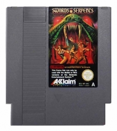 Swords and Serpents Nintendo NES 8bit (C.2.5)