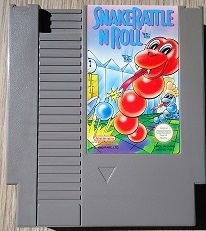Snake Rattle 'n' Roll Nintendo NES 8bit (C.2.2)