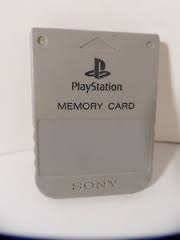 Sony Playstation 1 PS1 Original 1MB Memory Card SCPH-1020 OEM Official Genuine (H.3.1)