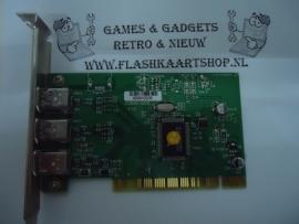 Firewire PCI kaart 3 poorten