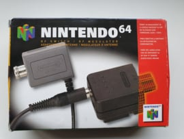 Nintendo 64 N64 RF Switch + RF Modulator incl cable (E.3.1)
