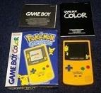 Nintendo Gameboy Color GBC Boxed - Pokemon Pikachu