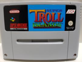 Super Troll Islands - Super Nintendo / SNES / Super Nes spel 16Bit (D.2.8)