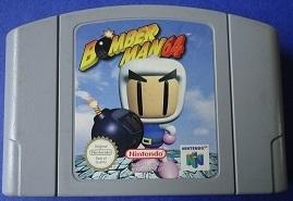 Bomber Man Nintendo 64 N64 (E.2.1)