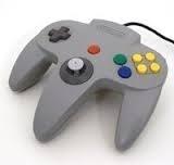 Nintendo 64 N64 Controller Grijs (E.3.1)