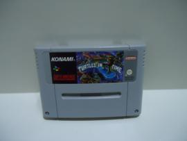 Teenage Mutant Hero Turtles IV: Turtles in Time - Super Nintendo / SNES / Super Nes spel (D.2.6)