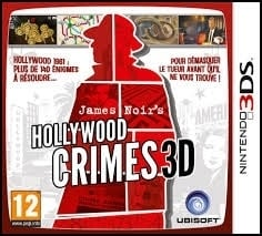 Hollywood Crimes 3D - James Noir`s - Nintendo 3DS 2DS 3DS XL