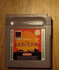 The Lion King Disney Nintendo Gameboy GB / Color / GBC / Advance / GBA (B.5.1)