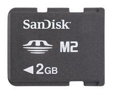 Sandisk 2GB Memory Stick Micro M2