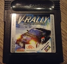 V - Rally Championship Edition - Nintendo Gameboy Color - gbc (B.6.1)