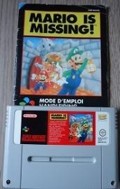 Mario is Missing! - Super Nintendo / SNES / Super Nes spel (D.2.3)