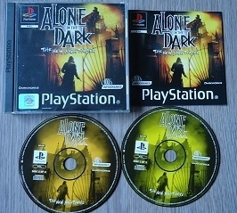 Alone in the Dark: The New Nightmare - PS1 - Sony Playstation 1
