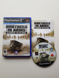 Brothers in Arms Earned in Blood - Sony Playstation 2 - PS2 (I.2.1)