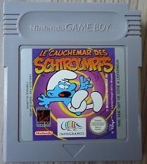Le Cauchemar des Schtroumpfes Nintendo Gameboy GB / Color / GBC / Advance / GBA (B.5.1)