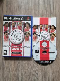 Ajax Club Football 2005 - Sony Playstation 2 - PS2  (I.2.4)