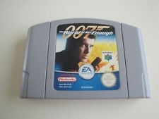 007 The World is not Enough Nintendo 64 N64 (E.2.1)