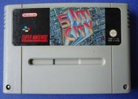 SimCity - Super Nintendo / SNES / Super Nes spel (D.2.7)