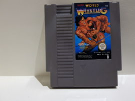 World Wrestling - Nintendo NES 8bit - Pal B (C.2.3)