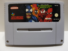 Venom Spider-Man Separation Anxiety - Super Nintendo / SNES / Super Nes spel 16Bit (D.2.8)