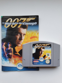 007 The World is not Enough Nintendo 64 N64 (E.2.3)
