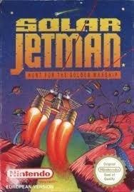 Solar Jetman Boxed Nintendo NES 8bit