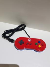 Super Nintendo SNES USB Controller, ideaal voor retro games op uw pc laptop tv of raspberry of macos (D.3.1)