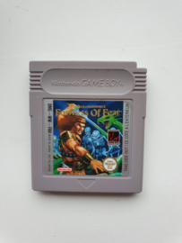 Wizzard & Warriors Fortress of Fear Nintendo Gameboy GB / Color / GBC / Advance / GBA (B.5.2)