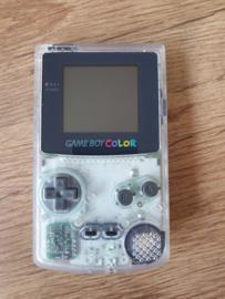 Nintendo Gameboy Color GBC - cystal clear - Zeer Nette staat (B.1.1)