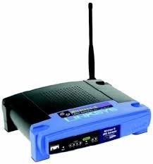 Linksys Cisco ADSL Gateway with 4 ports switch Wireless G WAG54G