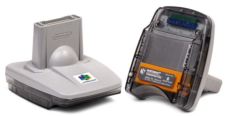 N64 transfer pack nintendo gameboy adapter - Nintendo 64 (E.3.1)