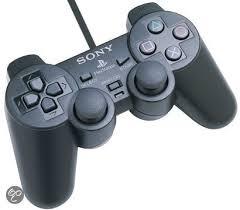 Sony Playstation 2 controller (zwart) orgineel sony
