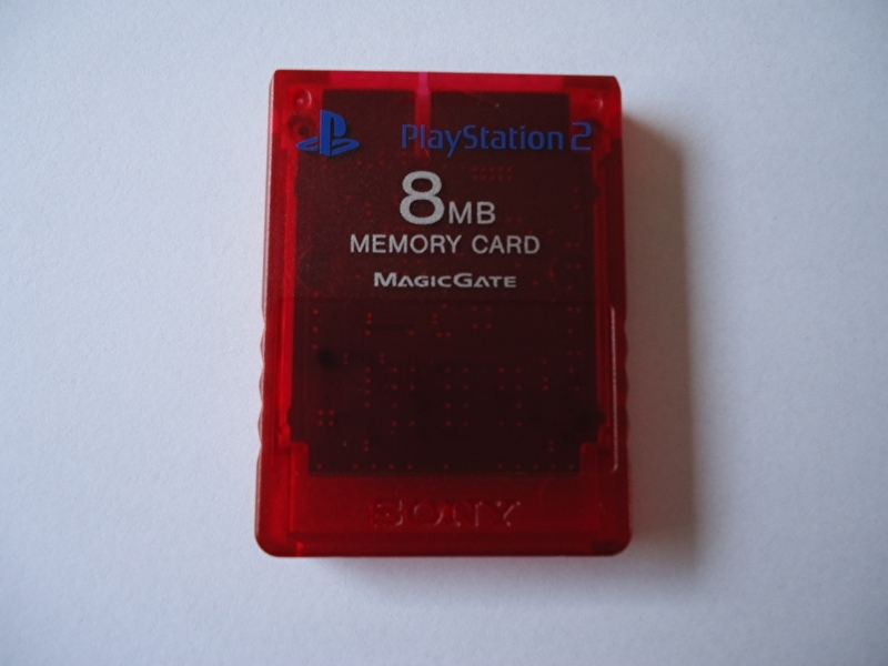 Sony Playstation 2 PS2 Offical 8MB Memory Card SCPH-10020 MagicGate (H.3.1)