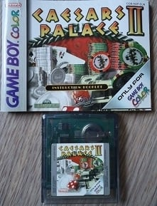 Caesars Palace II Nintendo Gameboy Color GBC (B.6.1)