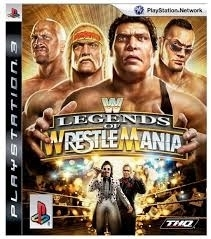 Legends of Wrestle Mania - Sony Playstation 3 - PS3
