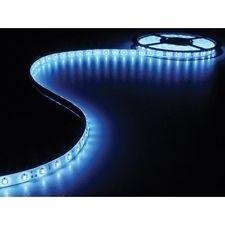 Ledstrip 5 meter Blue - Blauw 3528 white pcb 300 leds
