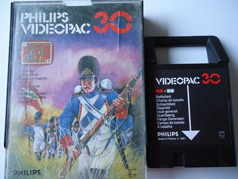Philips Videopac 30 Battlefield (O.1.1)